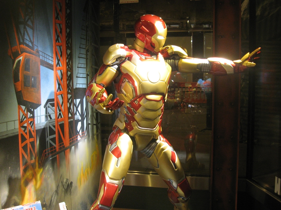 IRON MAN 3 - DISNEY  April 2013
