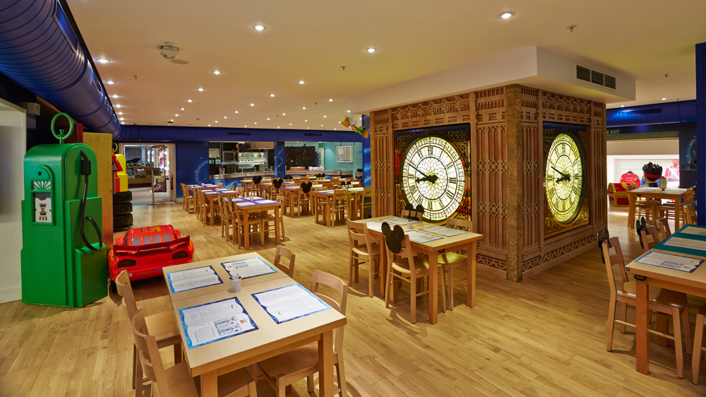 DISNEY CAFE - HARRODS   December 2012