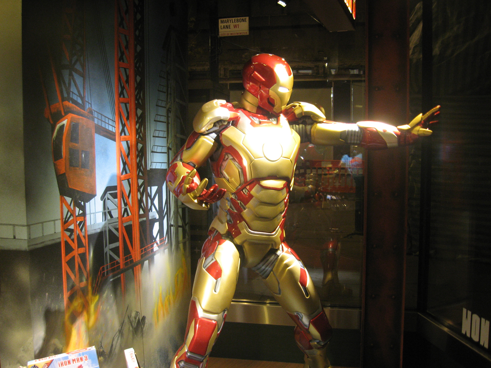 Iron Man 3-Disney-Visual Merchandising-Props & Sculpts
