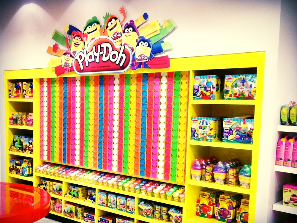 PLAYDOH INSTORE - SELFRIDGES   August 2013