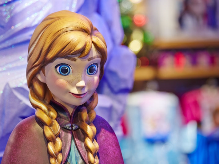 FROZEN INSTORE - DISNEY October 2013