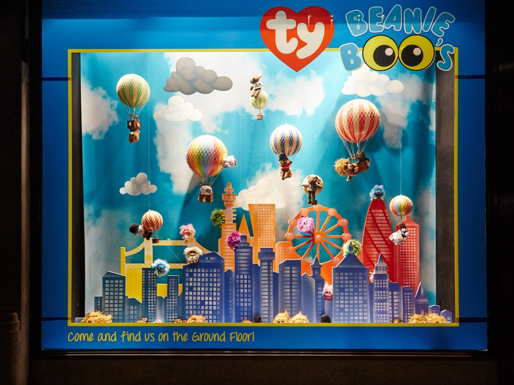 TY Hamleys Window Displays Visual Merchandising