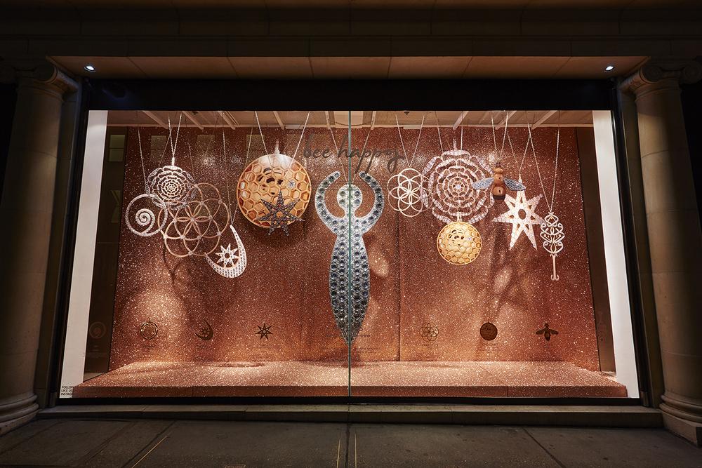 Fenwicks, Window Display, Bee Jewellery, Props, Fashion, Accessories, Bond Street Retail.jpg