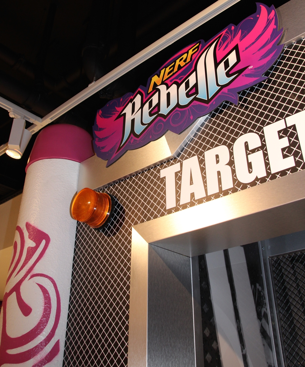 NERF TARGET RANGE -  THE TOY STORE    September 2015