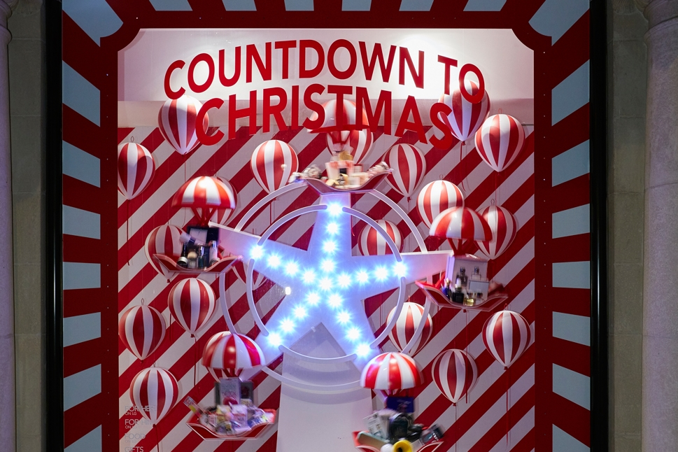 CANDY CANE CHRISTMAS - FENWICK BOND STREET    December 2015