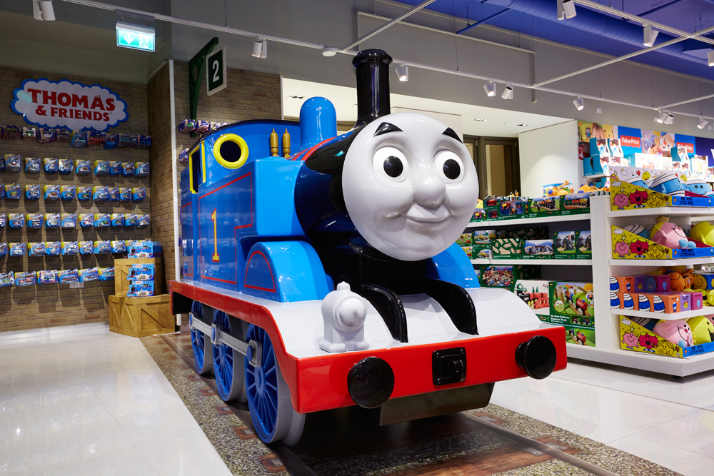 THOMAS THE TANK ENGINE - THE TOY STORE    September 2015