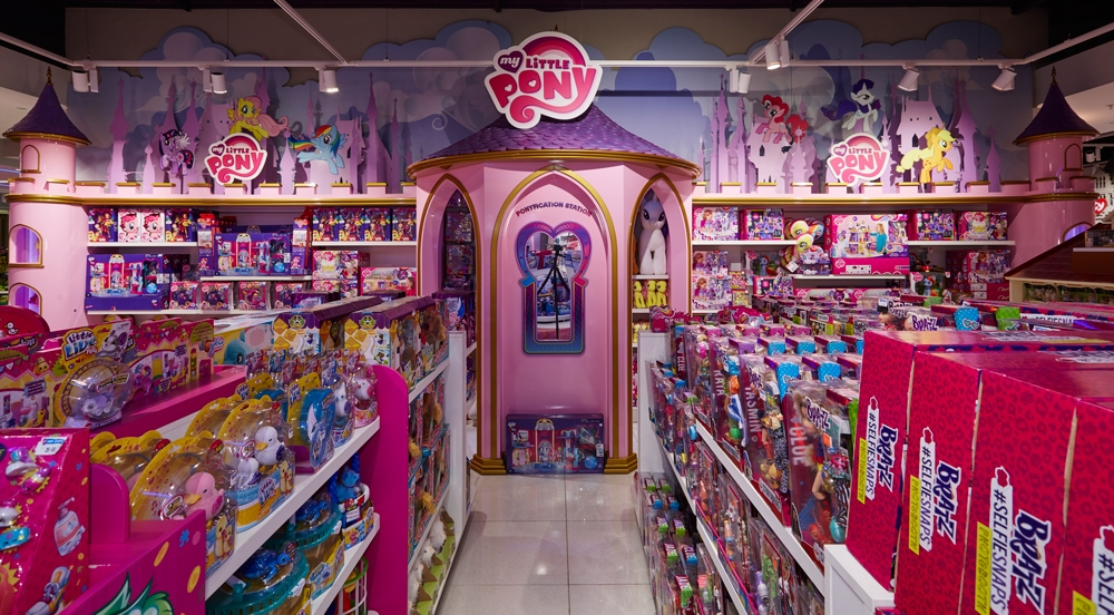 MY LITTLE PONY - THE TOY STORE    September 2015