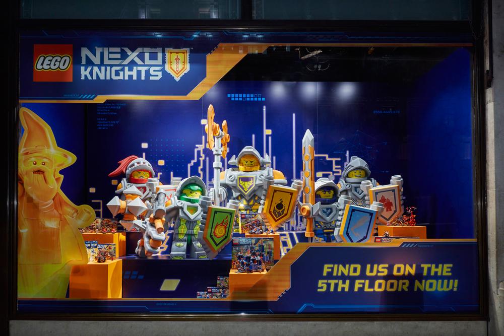 LEGO NEXO KNIGHTS - HAMLEYS    March 2016