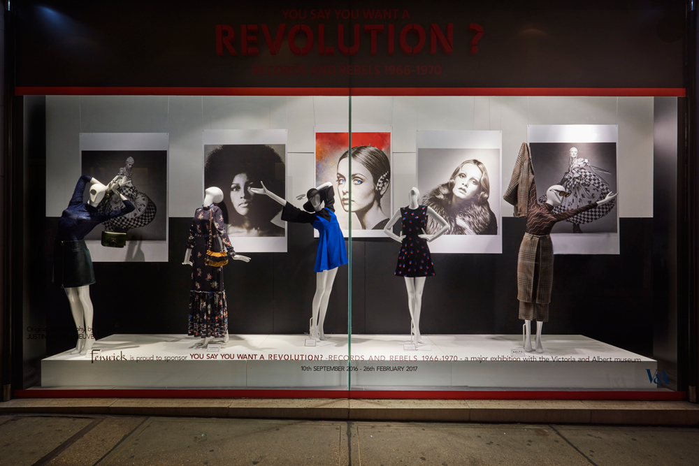 REVOLUTION REBELS & RECORDS -  FENWICK BOND STREET    September 2016
