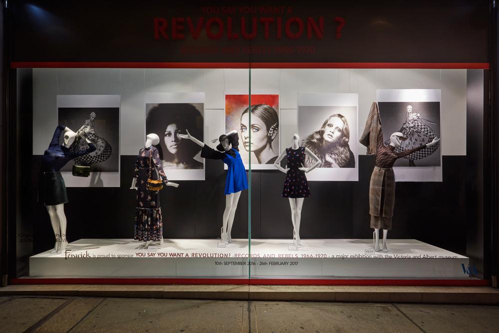 REVOLUTION REBELS & RECORDS - FENWICK BOND STREET    September 2016