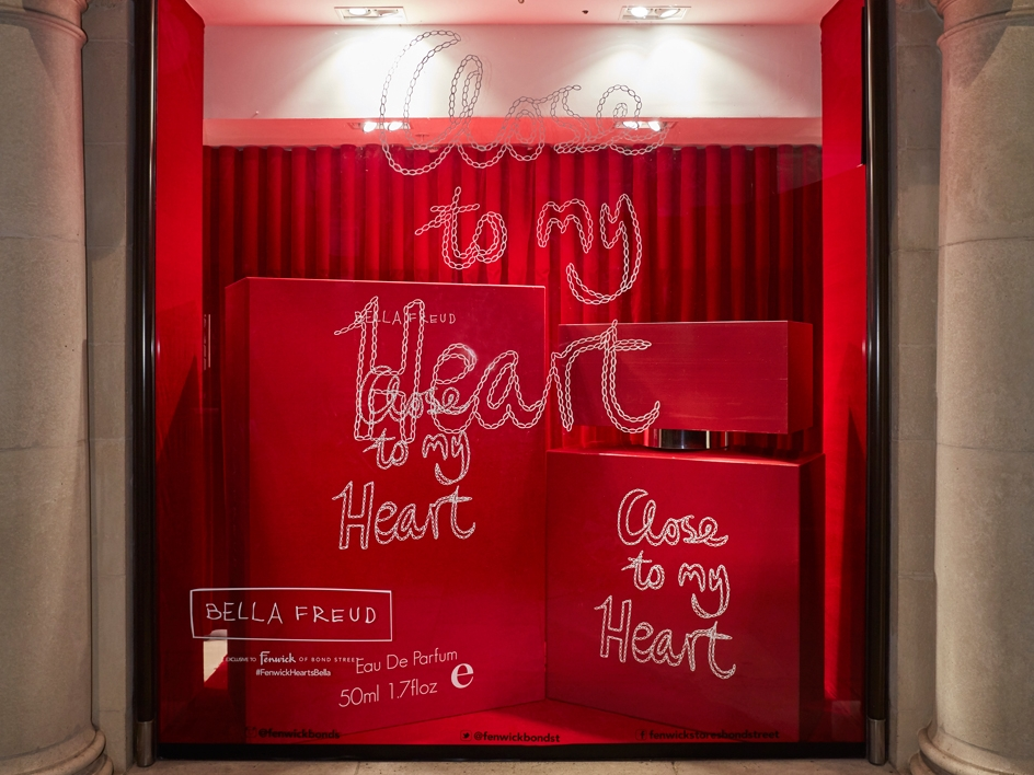 BELLA FREUD CLOSE TO MY HEART - FENWICKBOND STREET    September 2016
