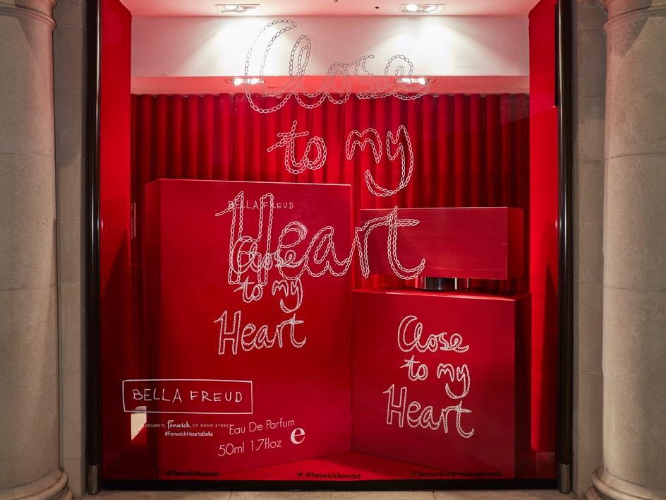 BELLA FREUD CLOSE TO MY HEART - FENWICKBOND STREET    September 2016