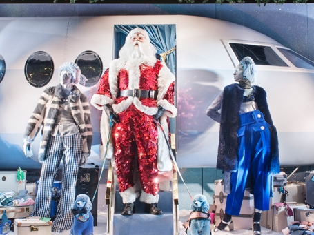 A PLANE FOR SHINE ON CHRISTMAS- SELFRIDGES    November 2016