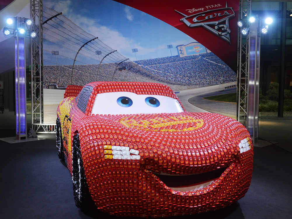 CARS 3 - NUREMBERG TOY FAIR GERMANY    February 2017