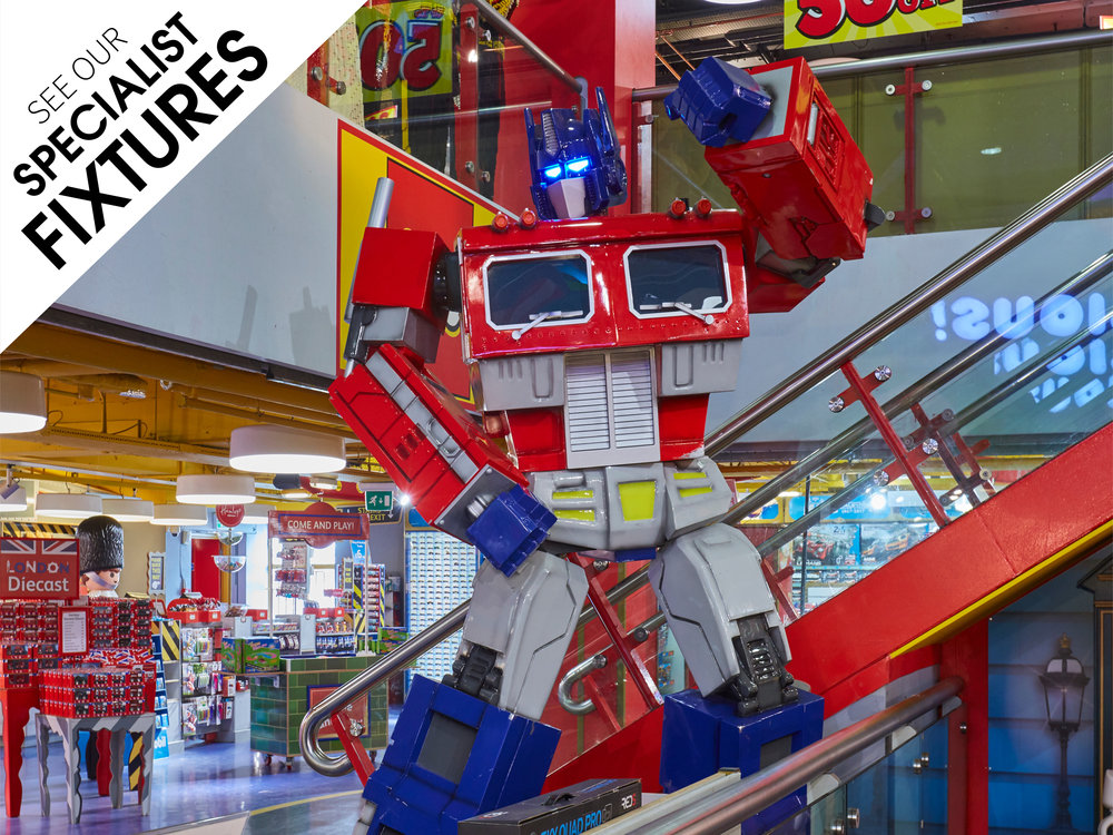 Specialist-Fixtures,-Propability,Hamleys,Transformers,OptimusPrime, The Last Knight