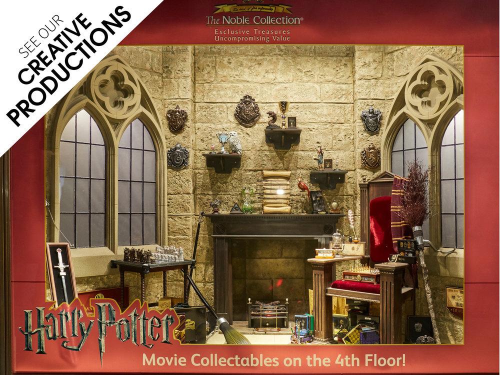 Creative-Production,Propability,Hamleys,Noble,Harry Potter