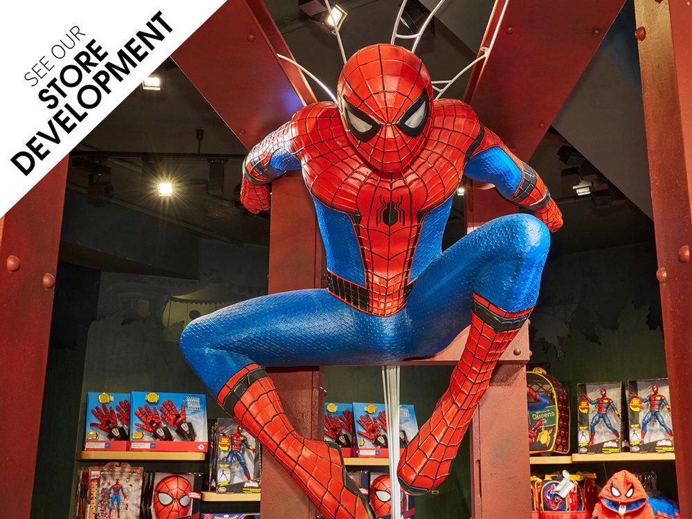 Store-Development,-Propability,SpiderMan,Disney Store
