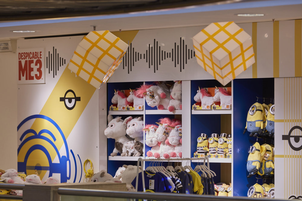 DESPICABLE ME 3 - SELFRIDGES LONDON    June 2017