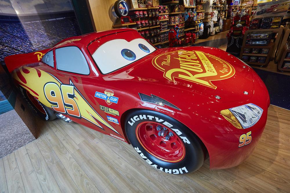 Propability, Disney Store, Lightening McQueen, Prop2.jpg