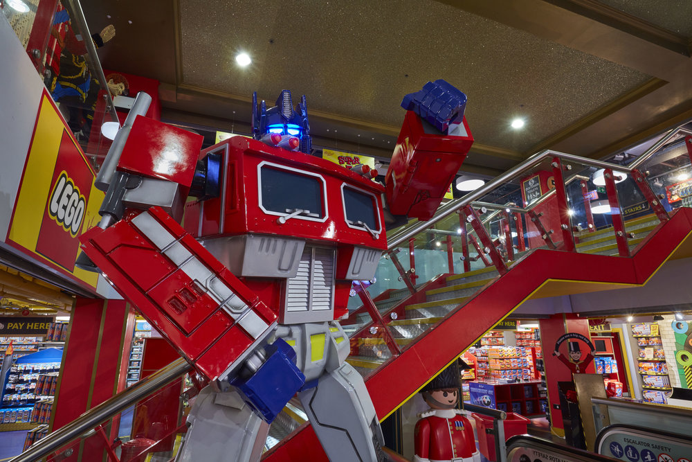 Propability, Hamleys, Transformers, Prop, Optimus Prime, The Last Knight .jpg