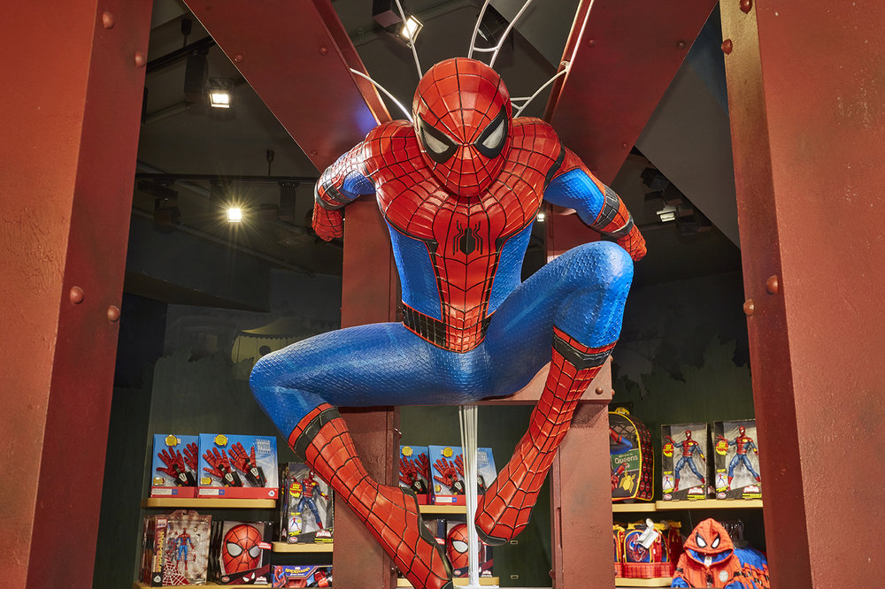 Propability, Disney Store, SpiderMan, Spiderman Homecoming, Prop & Web.jpg
