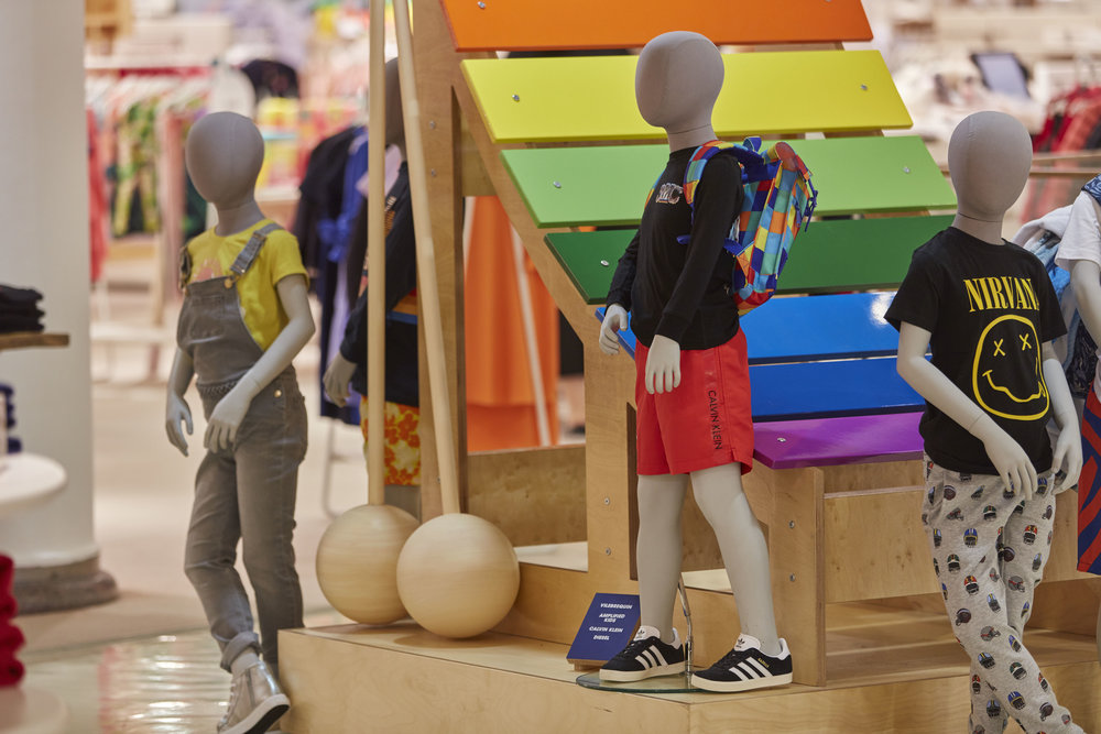 Propability, Selfridges, Music Matters, Xylophone & Beaters Sculpt, Childrens Department .jpg