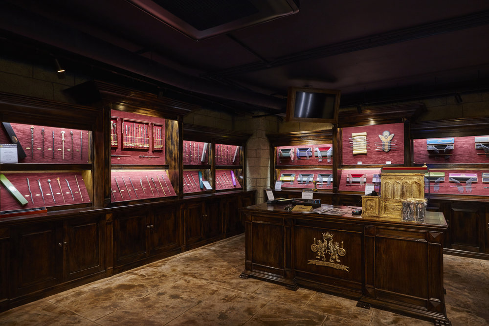 Propability, Noble Collection,Immersive cash desk, LED lit display cabinets, concealed cash register.jpg