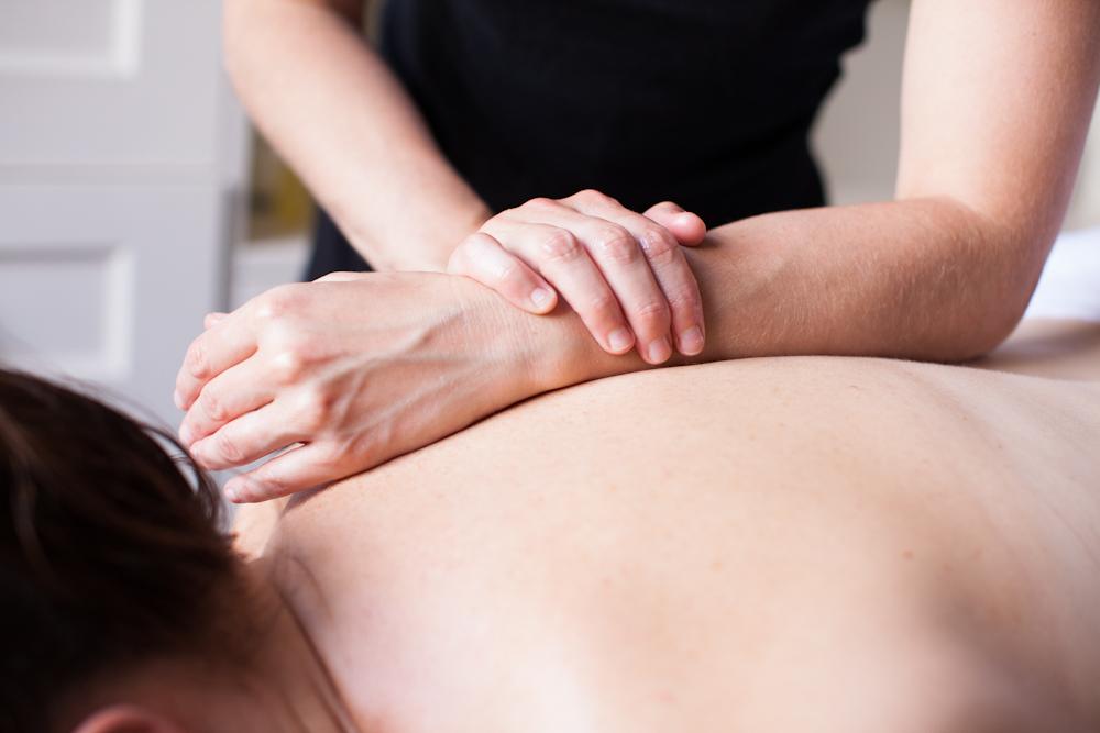 Deep tissue massage