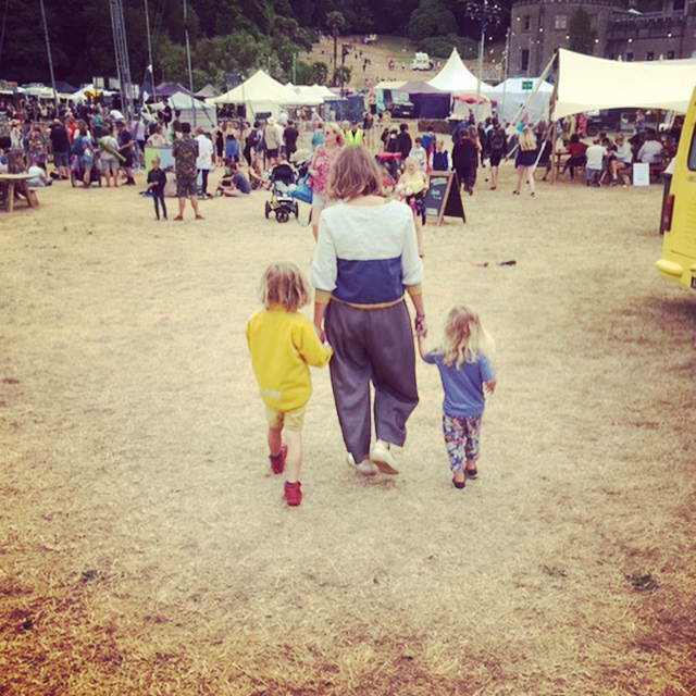 Her first festival, his second.. last year I had my fallow year and didn't go to any festivals while we focused on the move. It was tough! Was so lovely to get back in the saddle with them and see them run feral and free in a field! Luckily they loved it so next summer if you need me you'll find me down the front, by the speaker, stage left #familytime #familylove #festivals #festivalfun #portelliot #myhappyplace #stageleft