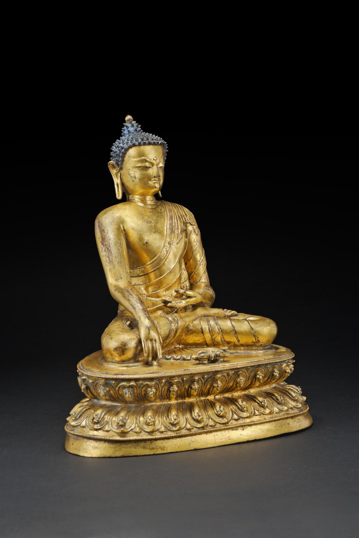 Buddha at Vajrasana