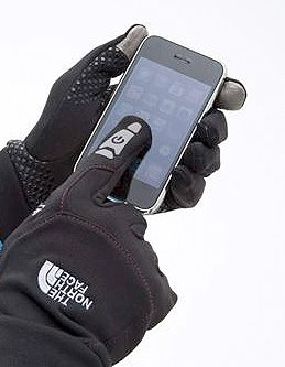 """Stay connected while you're outside and on-the-go with our touch-screen compatible, four-way stretch fleece glove. Full palm conductivity allows you to use your touchscreen devices without removing your gloves and exposing your hands in cool conditions."""