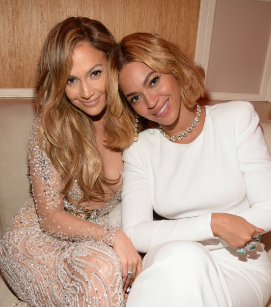 Jennifer Lopez and Beyonce Knowles
