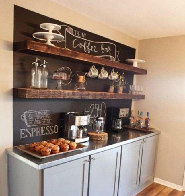 DIY Home Espresso Bar Fluff Magazine