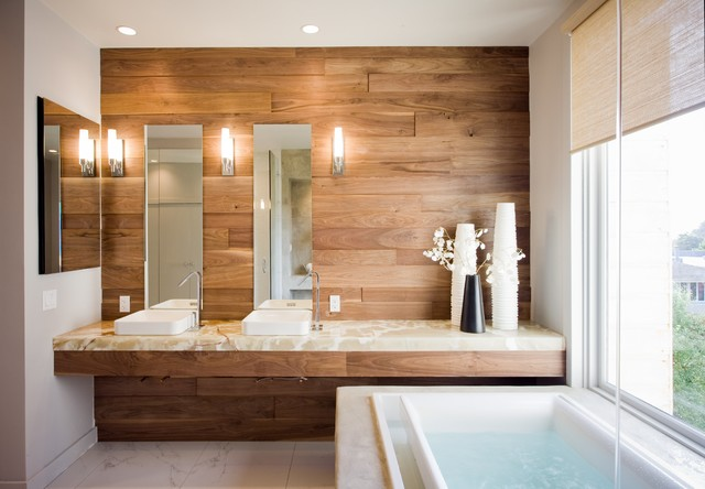 Trending bathroom decor fluff magazine for Modern bathroom tile trends