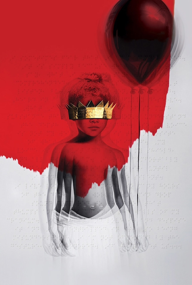 Rihanna 'ANTI' cover.