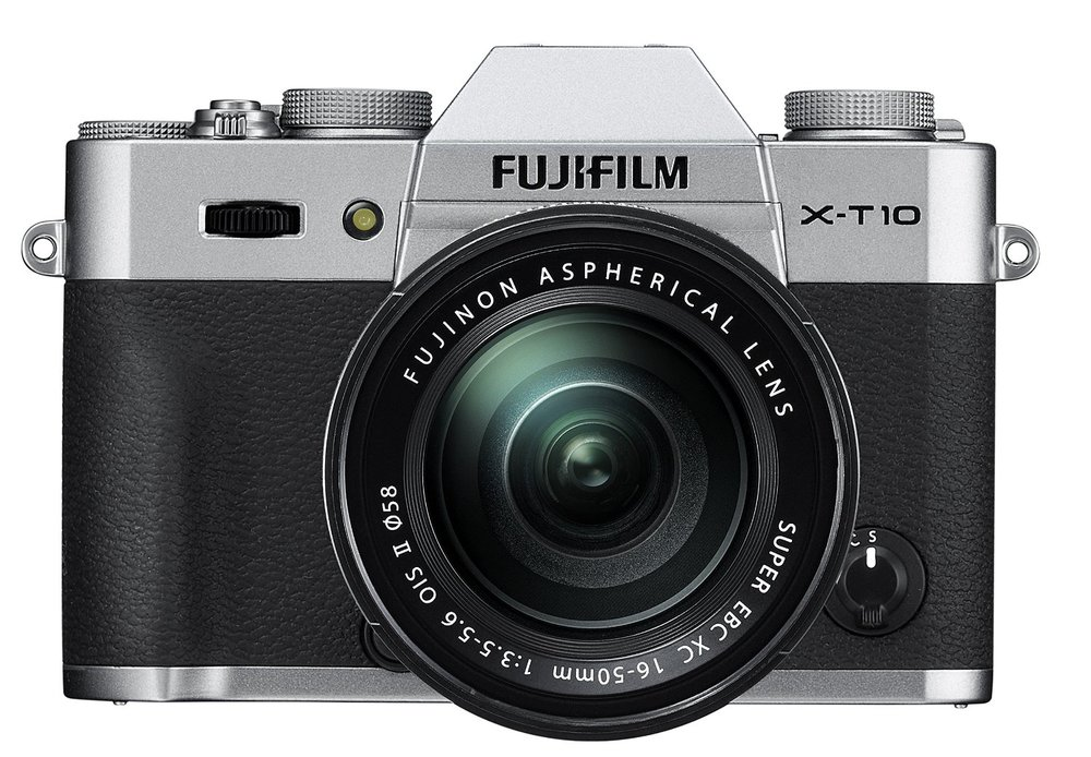 Fujifilm X-T10 Silver Mirrorless Digital Camera