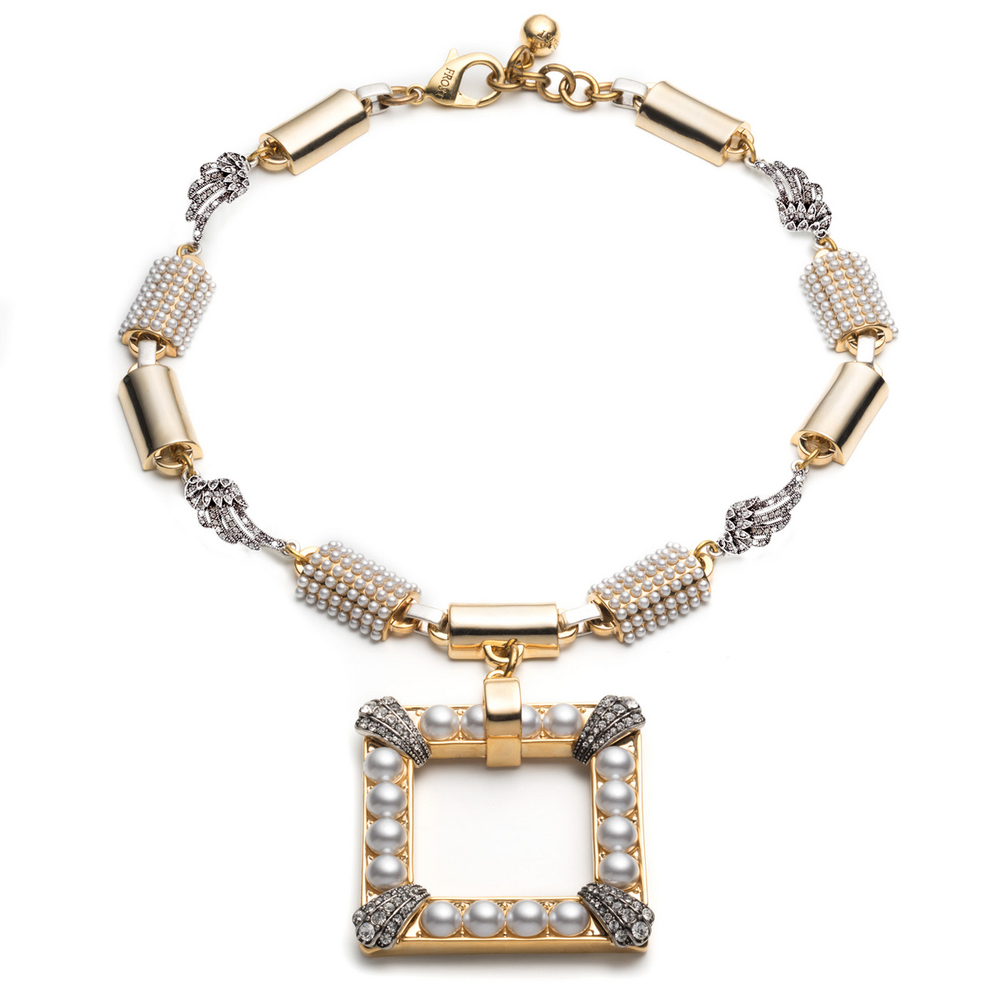LULU FROST  URSULA STATEMENT NECKLACE $450.00