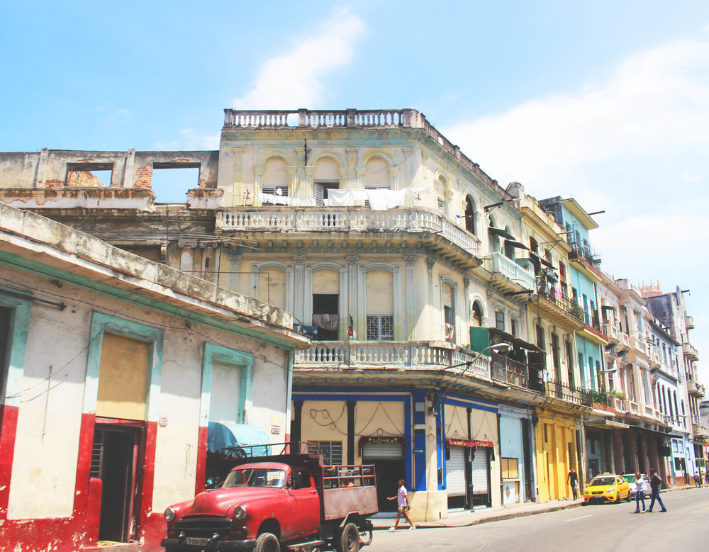 Old Havana, Cuba. by Nneya Richards