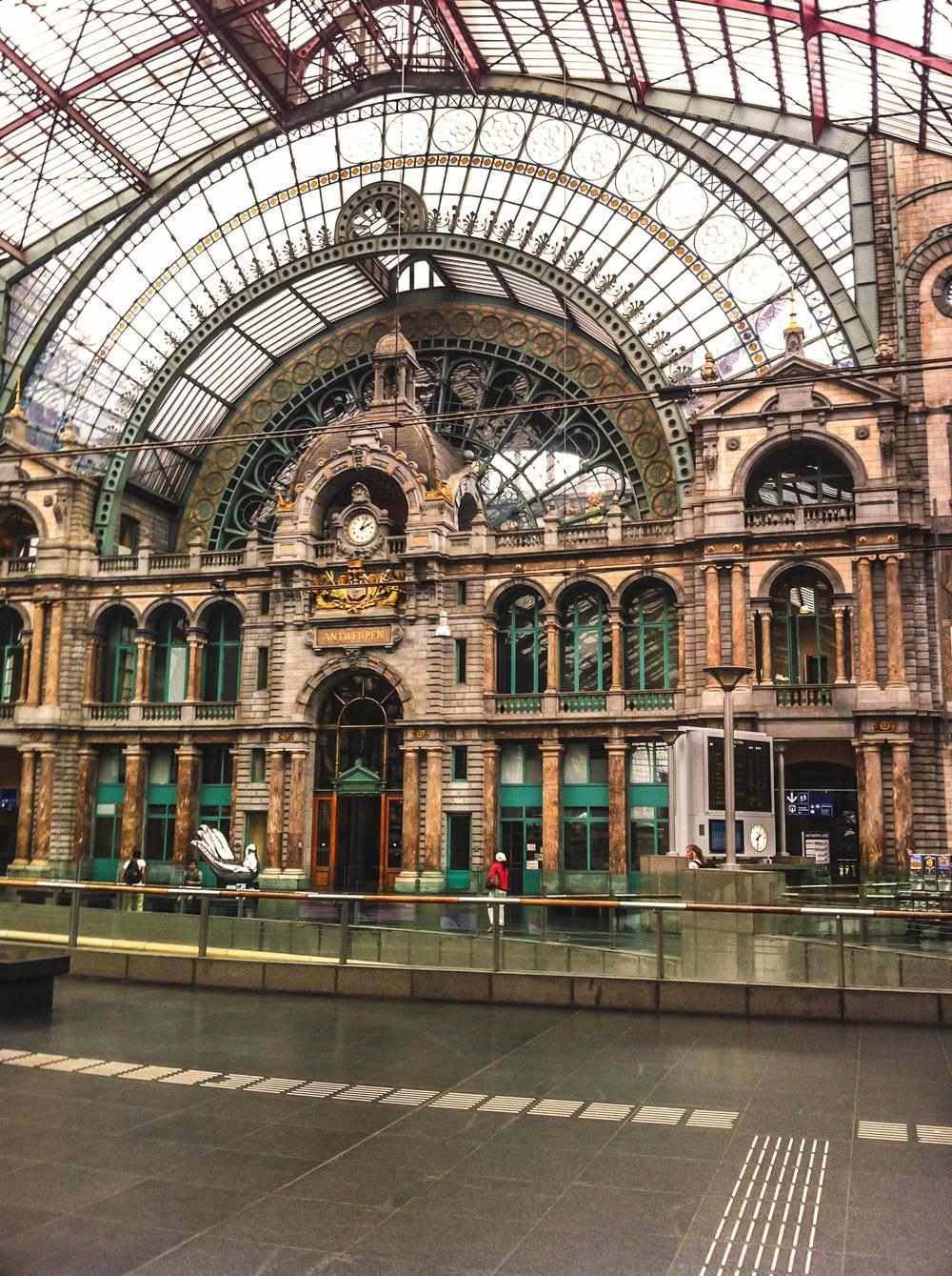 Antwerp train station by Nneya Richards