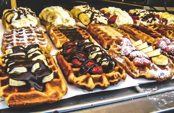 Waffles in Brussels by Nneya Richards