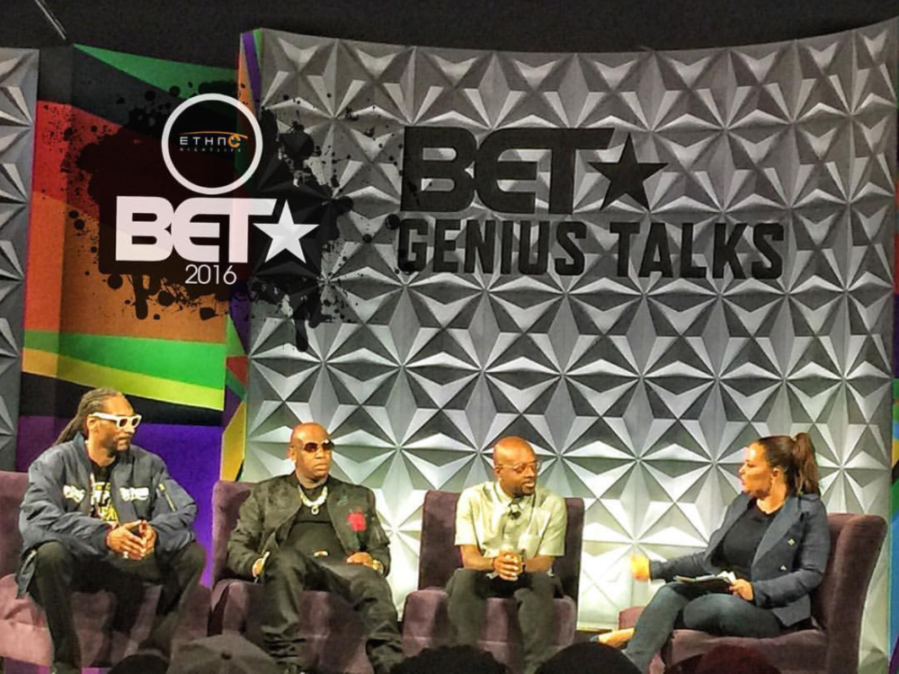"Snoop Dogg, Birdman, Jermaine Dupri at ""Genius Talks"""
