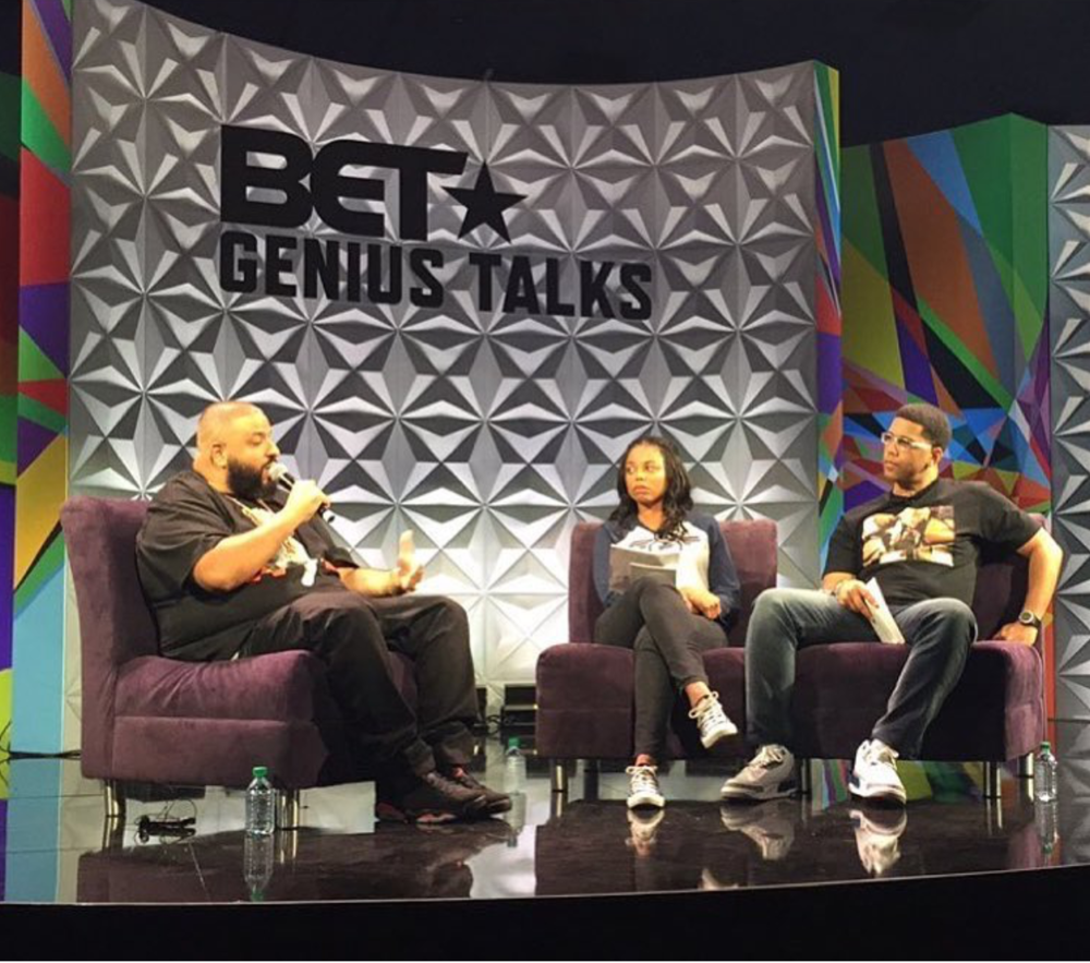 "DJ Khaled at ""Genius Talks"""