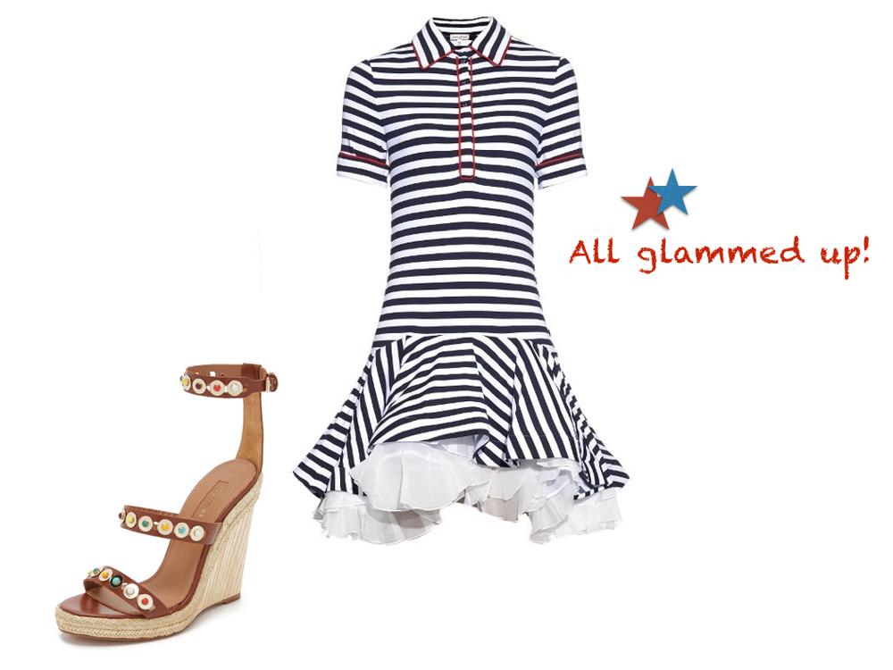 dress,  Natasha Zinko  $890 | shoes,  Aquazurra  $510