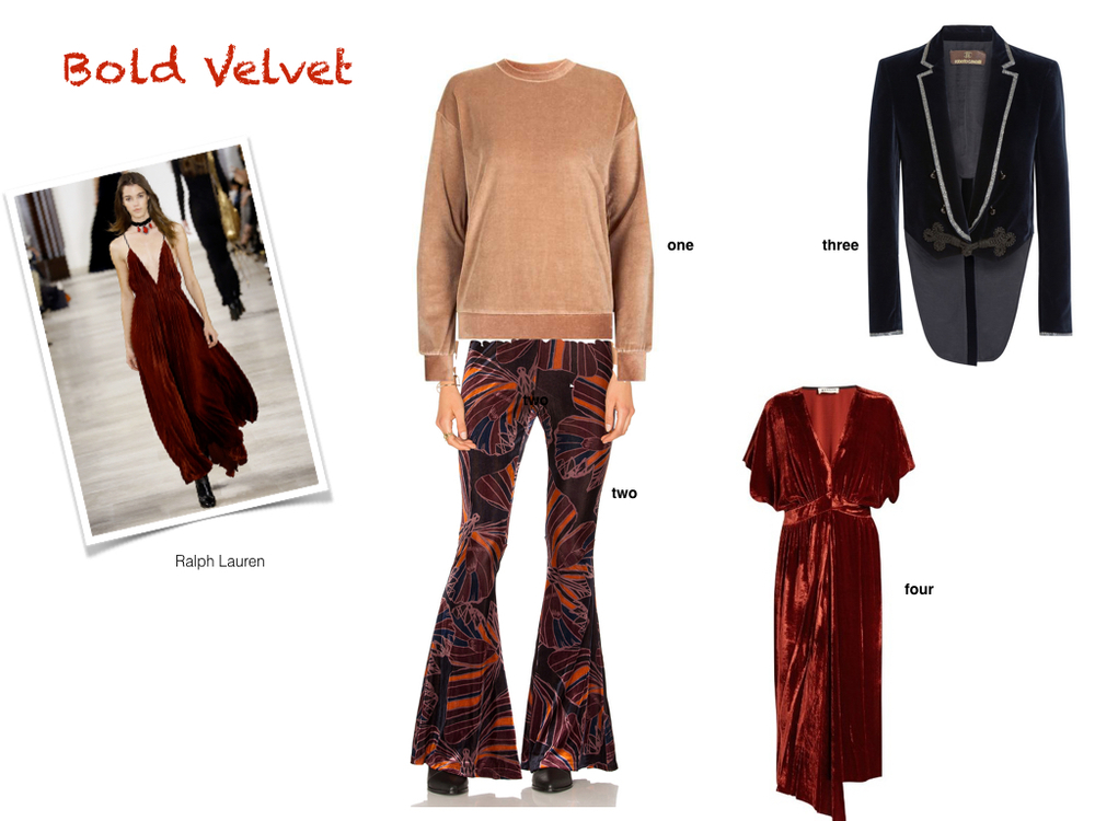 one. Topshop, $50 | two. Free People, $128 | three. Roberto Cavalli, $2,390 | four. Masscob, $360