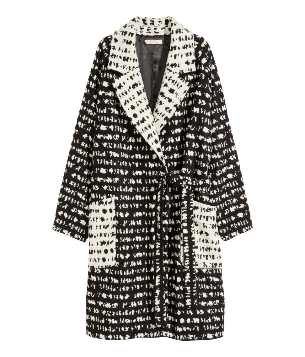 H&M Wool Blend Coat, $79