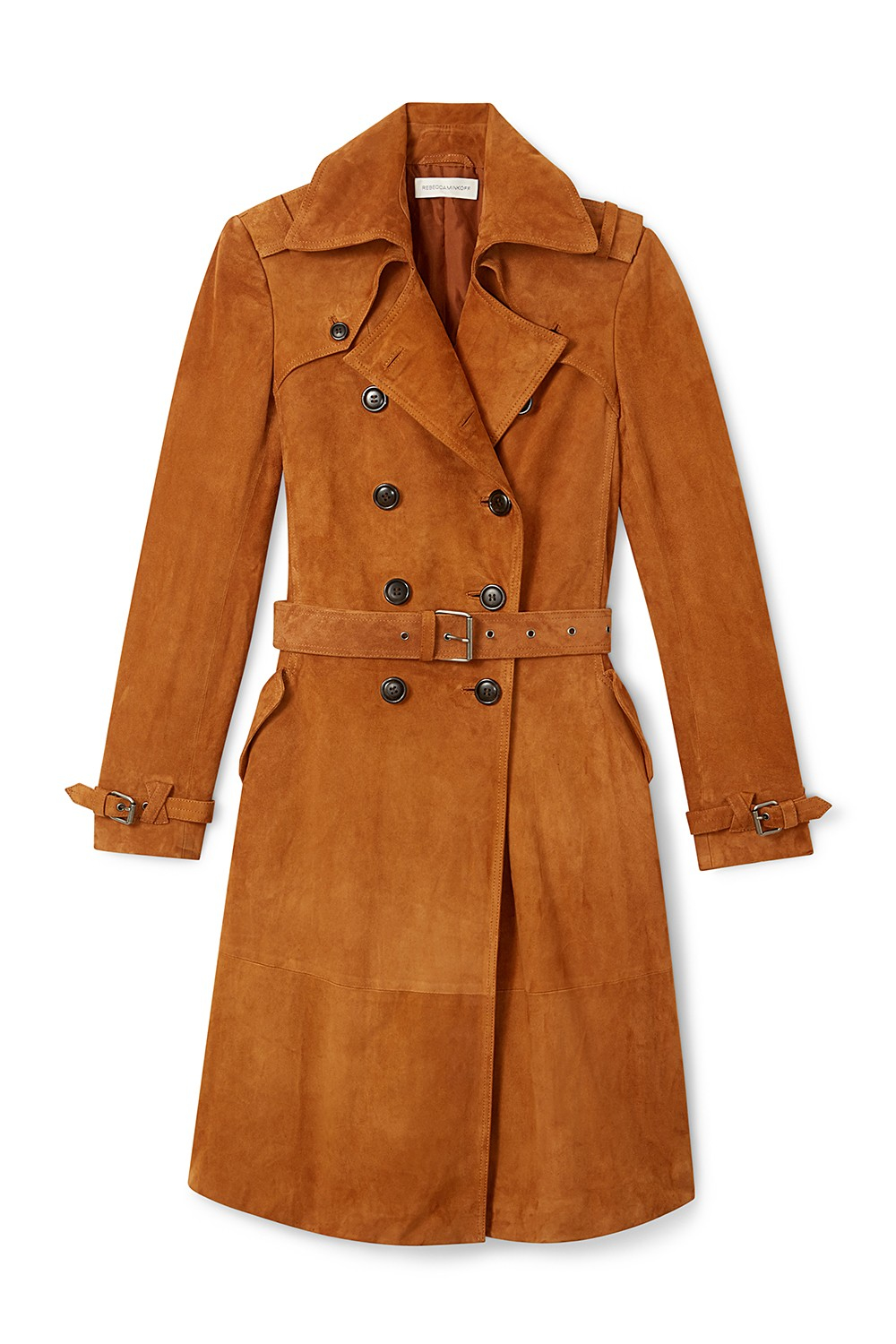 Rebecca Minkoff Amis Suede Trench , $898