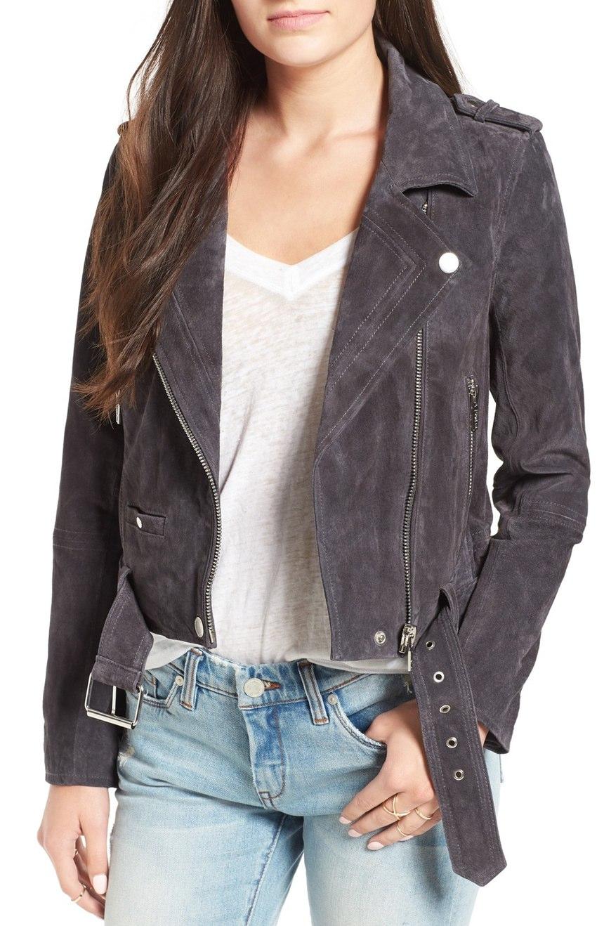 BlankNYC Suede Moto Jacket, $188