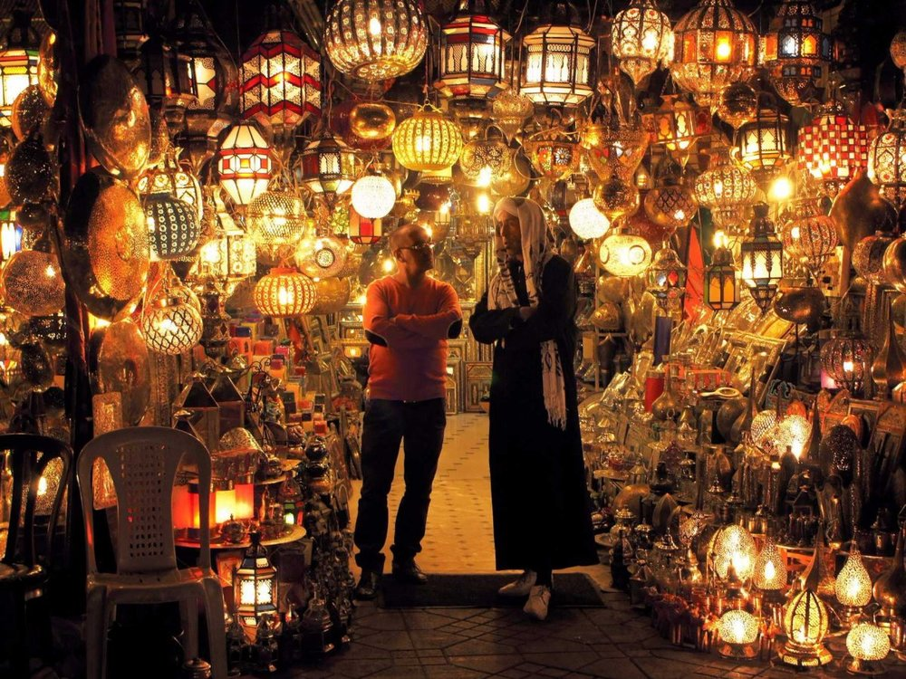New Year, new experiences right? I can think of few greater experiences than watching fireworks and enjoying delicious Moroccan food in a riad in Marrakech. Exploring souks and new cultures over the new year.