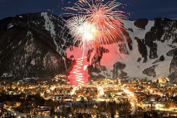 More of a ski bunny?Continue that snowy white Christmas into the New Year in glam ski town, Vail Colorado. Shortly after nightfall, festivities begin with ski instructors skiing down the slopes with torches. Top mountainside views will make this a New Year to remember.