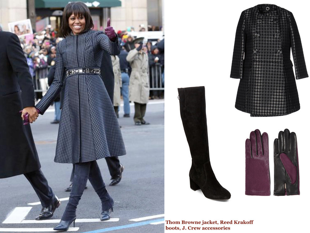 coat, UP TO BE, $95 | boots, STEVE MADDEN, $149 | gloves, AGNELLE, $78